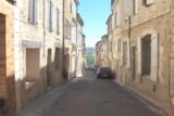 La rue du 14 juillet à Lectoure