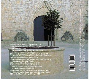 pochette cd serge mauro