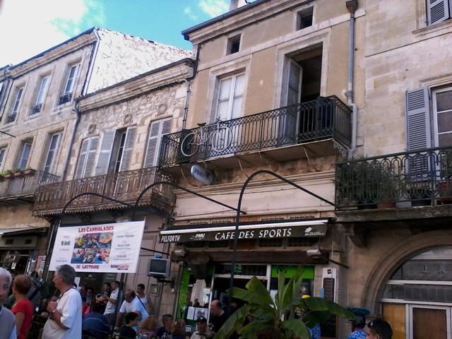Le café des sports, chez Bayonne