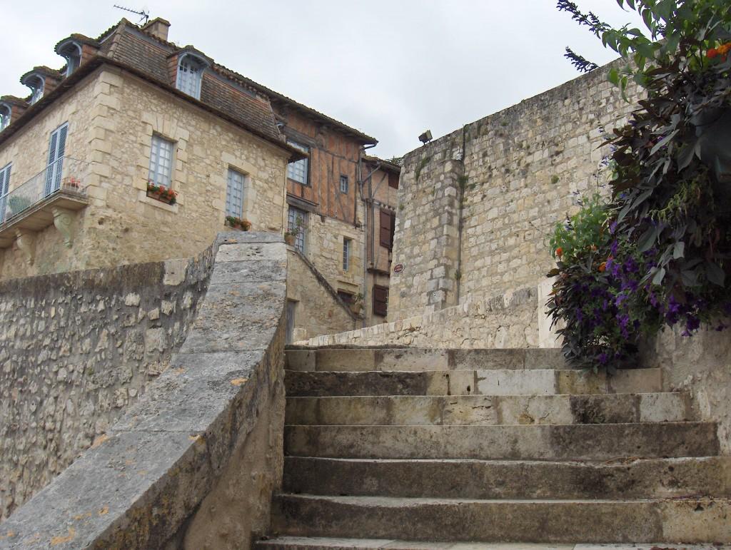 escaliers diane/fontélie à Lectoure
