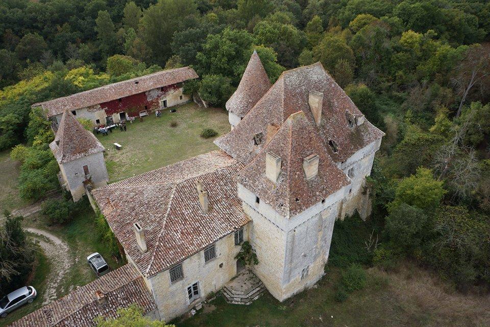 Chateau d'Esclignac à Montfort, 32