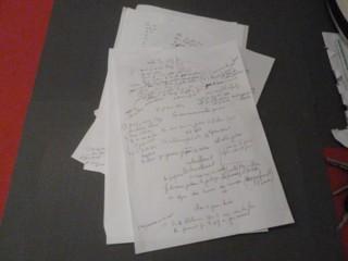 Serge Mauro écrit une chanson