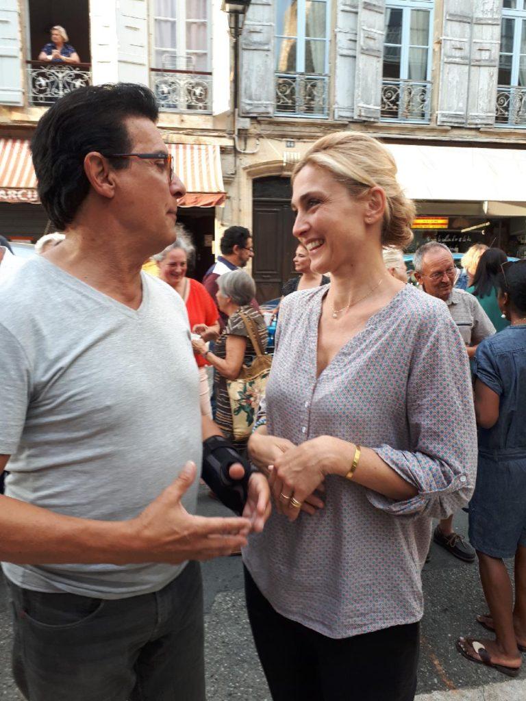 Julie Gayet - Serge Mauro - Lectoure - Gers