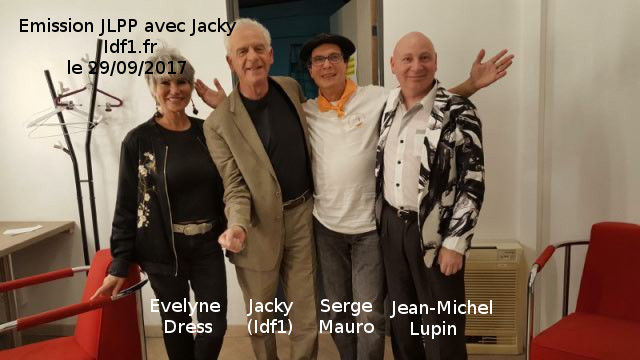 Serge Mauro télévision Idf1 Jacky